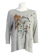 Jess & Jane Whimsical Fall Floral (GB-1632)(GREY)