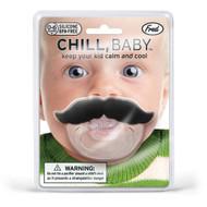 Chill Baby Mustache Pacifier (FRD FIER)