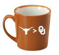 Texas Longhorn UT > OU Mug (4532BO/W)
