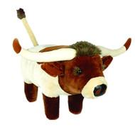 Texas Longhorn Plush Footstool (LHFS670)