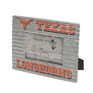 Texas Longhorn Galvanized Tin Frame (4 X 6)(88318)