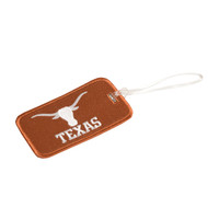 Texas Longhorn Embroidered Luggage Tag (MSKL0011)