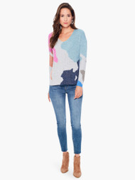 Nic & Zoe Puzzle Time Sweater (F211152)