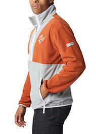 Texas Longhorn Columbia Back Bowl Lightweight Pull Over (191891824)