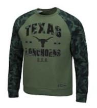 Texas Longhorn Joe Crew Neck Raglin Top (OTFC11070DO)