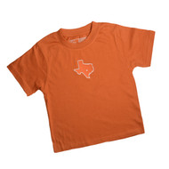 Texas Toddler Embroidered State/Star Tee (FMOXTX302)