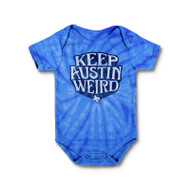 Keep Austin Weird Onesie (5054ONTDRY) ROYAL