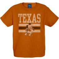 Texas Longhorn Youth You So Fine Mickey Tee (DIS8401TEXORA)