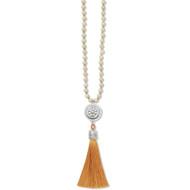 Brighton Marrakesh Neutral Tassel Necklace (JM4413)