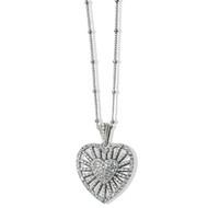 Brighton Illumina Heart Burst Necklace (JM4821)