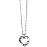 Brighton Pretty Tough Open Heart Necklace (JM4840)