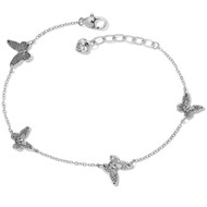 Brighton Solstice Butterfly Anklet (J71770)