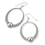 Brighton Sonora Oval French Wire Earrings (JA7820)