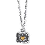 Brighton Ferrara Virtue Winged Heart Pendant Necklace (JM5032)