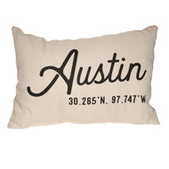 Heritage Austin Texas Pillow (STE0086) SUE PATRICK EXCLUSIVE