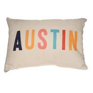 Multi-Austin Texas Pillow (STE0070) SUE PATRICK EXCLUSIVE
