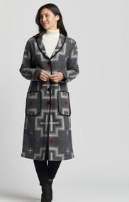 Pendleton Shawl Collar Duster Coat (TE237-15978)