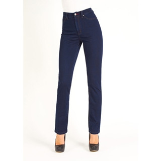 """Button closure-zip front/Heart detail rivets Higher Rise/Sits at the natural waist Form fitting through hip and thighs/Straight through knees and calves Flattens the tummy and lifts the behind/Faux front pockets/2 back pockets  Front rise: 9 3/4"""" Inseam: 30"""" Leg opening circumference: 14 3/4"""" Material: 65% Cotton, 35% Lycra Style#4439214"""