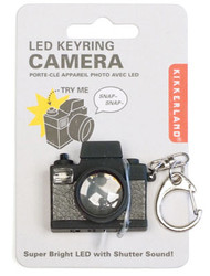 "Camera LED Light Key-Chain with ""Shutter"" Sound!"