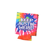 Keep Austin Weird Flat Koozie