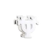 Texas Longhorn Sterling Silver UT Bead (S80345)