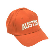 AUSTIN Cap in Burnt Orange