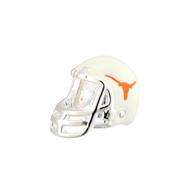 Sterling Silver Longhorn Enamel Football Helmet Bead (S80350)