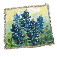 Texas Hill Country Bluebonnet Throw (C-ATBLBN)