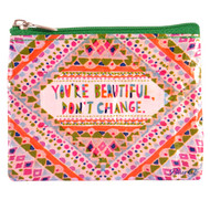 Blue Q You're Beautiful Coin Purse (QA549)