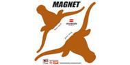 "Texas Longhorn 12"" Magnet (2 Pieces) (08562)"