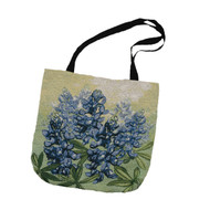 Texas Hill Country Bluebonnet Tapestry Tote (C-OTBLBN)