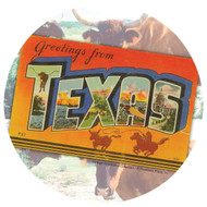 Thirstystone Greetings from Texas Coaster Set