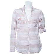 Texas Longhorn Columbia Sundrifter Shirt (Stripe)