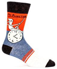Blue Q Mr. Punctual Socks (SW827)