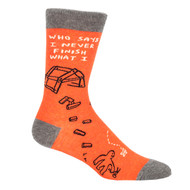 Blue Q Who Says I Never...Socks (SW835)