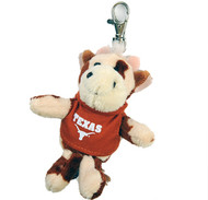 Texas Longhorn Wild Bunch Key Chain/Backpack Dangle (Chose from 9 Animals)