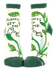 Blue Q Plants Get Me Ankle Socks (SW627)