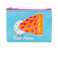 Blue Q Pizza Money Coin Purse (QA574)