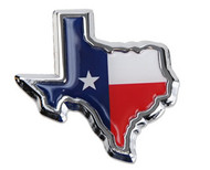 State of Texas w/Texas Flag Auto Medallion (TXFLTX)