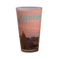 Picture Perfect Austin Skyline Pint Glass 16 oz (2023DEN)