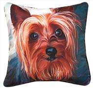 MWW Yorkie Style Pillow SLYSYK