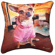 MWW Chihuahua Bella Pillow