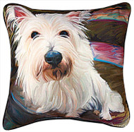 MWW Little Westie Pillow SLLWWS