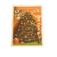 Texas Longhorn Traditional Christmas Tree Cards (CAL79)