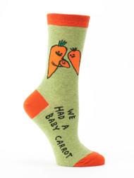 Blue Q Baby Carrot Socks (SW477)
