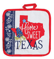 Home Sweet Texas Pot Holder (R3762)