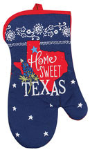 Home Sweet Texas Oven Mitt (R3765)