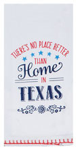 Home in Texas Flour Sack Tea Towel (R3767)