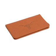 Texas Longhorn Leather Slim Business Card Holder (T406)