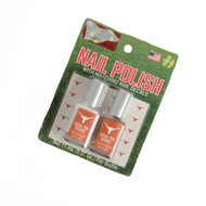 Texas Longhorn Nail Polish with Matching Nail Decals (2PKNP)